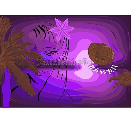 hawaii paintings illustrations