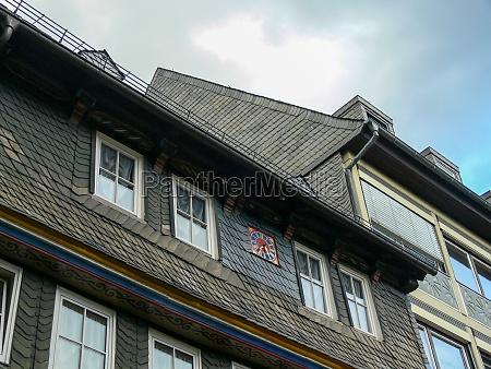 residential building in goslars old town