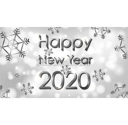 poster design for new year 2020