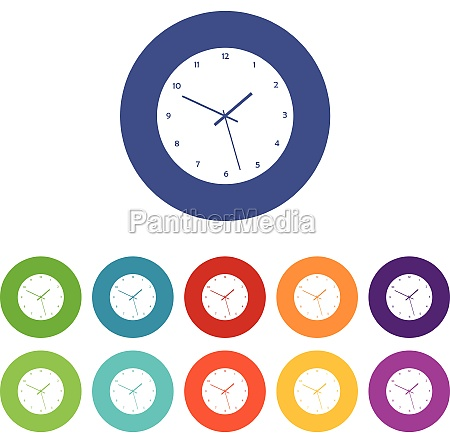 watch set icons
