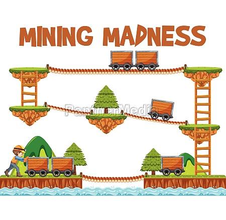 mining game element