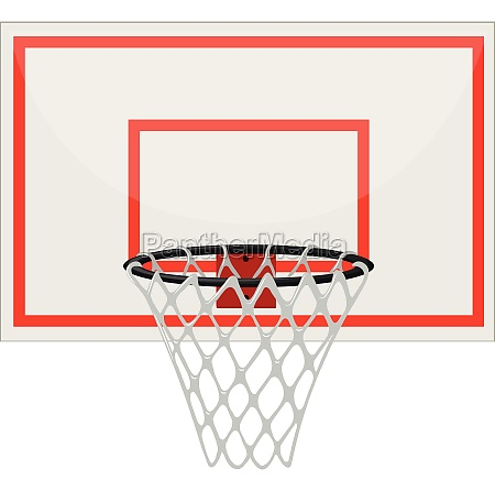 basketball hoop with net