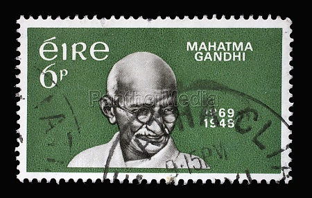 a stamp printed in ireland shows