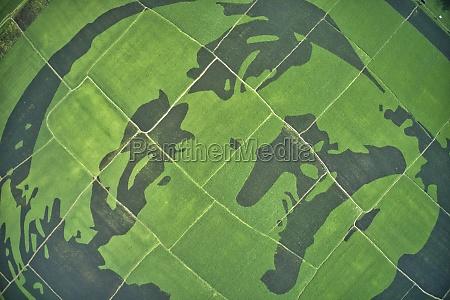 aerial view of sheikh mujibur rahman