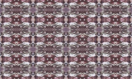 modern ornate collage seamless pattern