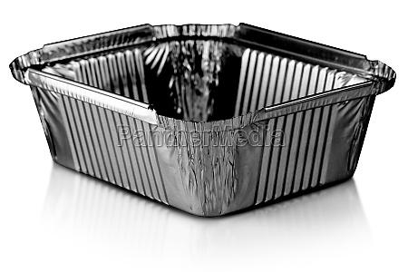 black square aluminium foil baking cups
