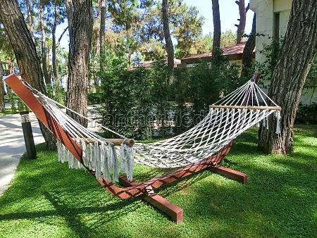 hammock at abstract resort at goynuk