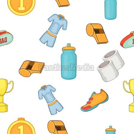 big, tennis, pattern, , cartoon, style - 30256166