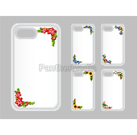 graphic design on mobile phone case