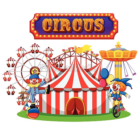 circus and clown performance