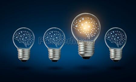 different light bulb idea many bulbs