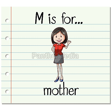 alphabet m is for mother