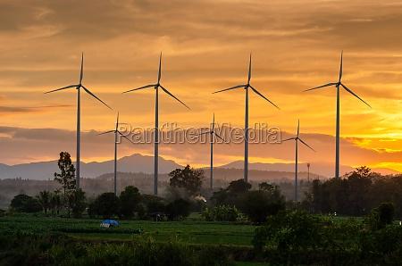 wind turbine energy green ecological