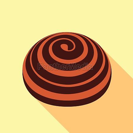 bakery icon flat style