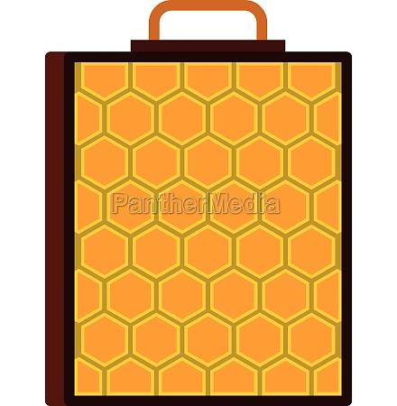 honeycomb icon flat style