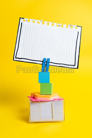 colorful idea presentation displaying fresh thoughts