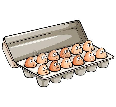 a dozen of eggs