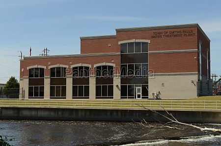 smiths falls water treatment plant
