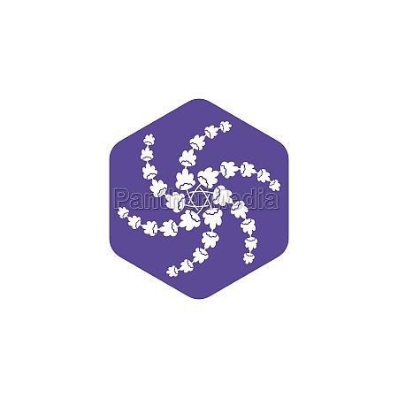 lavender flower vector illustration design