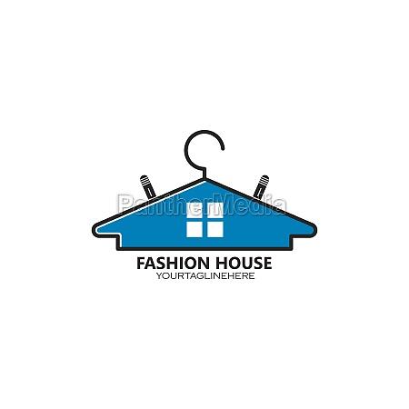 hanger logo icon vector illustration design
