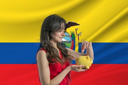 economy in ecuador accumulating and saving