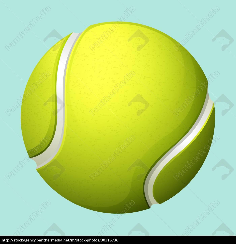 tennis, ball, on, green - 30316736
