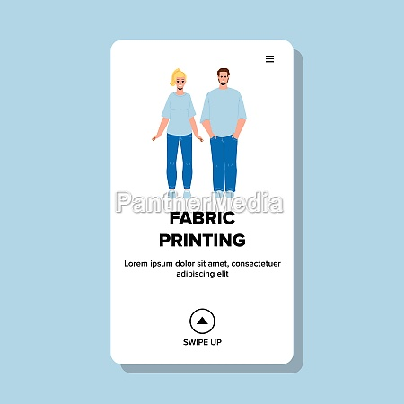 fabric printing on t shirt clothes