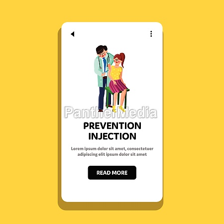 prevention injection make doctor to patient