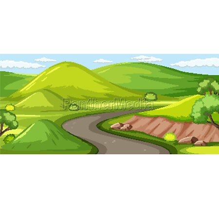 outdoor green nature background