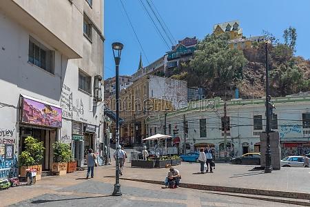 view of the plaza anibal pinto