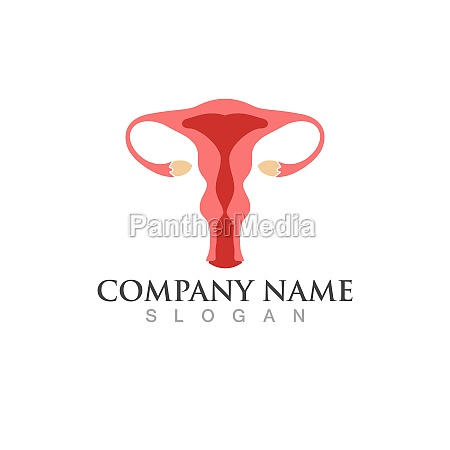 woman reproduction icon template