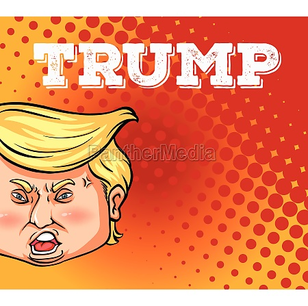 us president trump on poster
