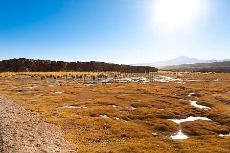 beautiful bolivian landscape bolivia