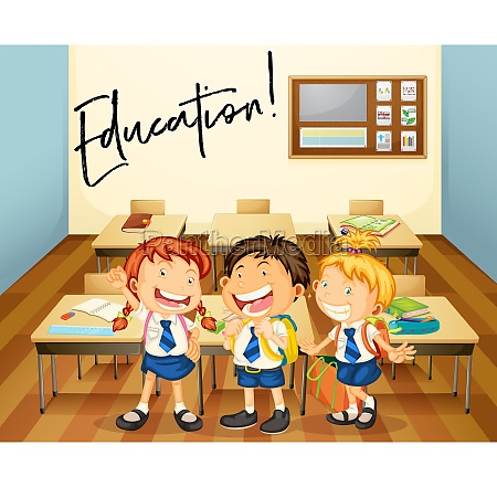 word expression for education with students