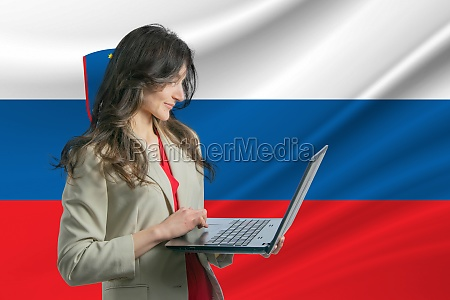 freelance in slovenia beautiful young woman