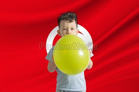 childrens day in tunisia white boy