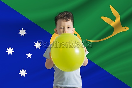 childrens day in christmas island white