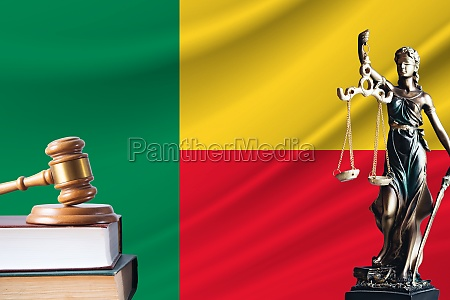 law and justice in benin statue