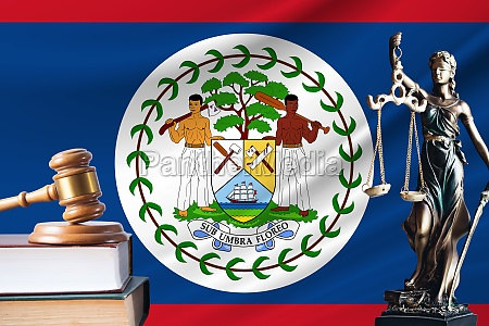 law and justice in belize statue