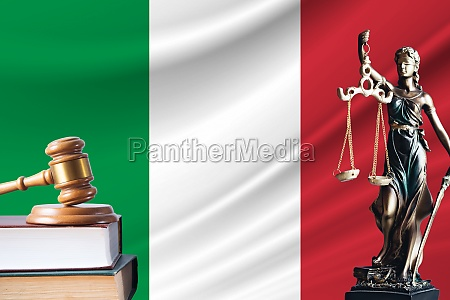 law and justice in italy statue