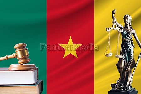 law and justice in cameroon statue