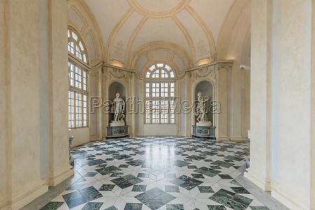corridor with floor made of luxury