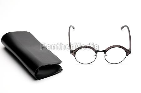 optical eyeglasses on a white background