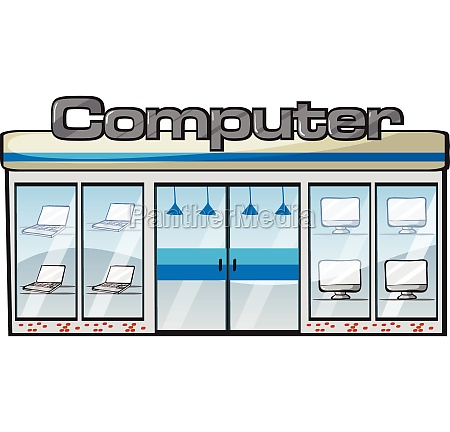 a computer store