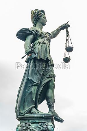 justitia monument frankfurt