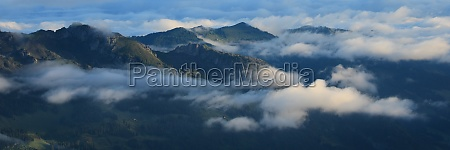 entlebuch on a morning after rainfall