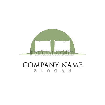 bed logo and symbol vector image