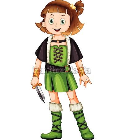 a female viking