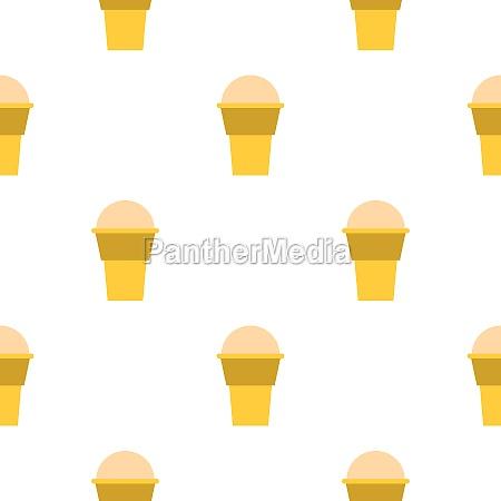 ice cream pattern seamless