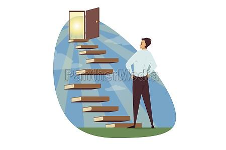 motivation business success goal achievement concept